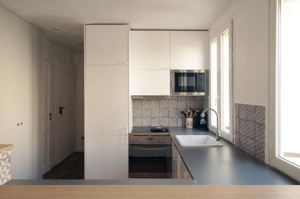 Vorher nachher makeover mit einbauten f r ein apartment Agencement petit appartement