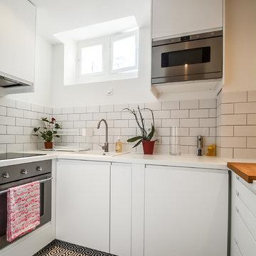 Rénovation d'un appartement de 53m2 à Paris 9
