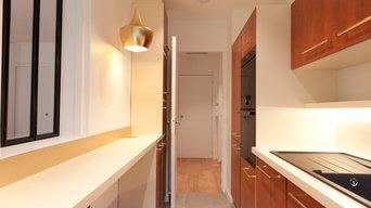 Rénovation d'un appartement de 85 m2 pour un couple sénior