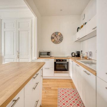 Rénovation d'un appartement Haussmannien Lyon 6
