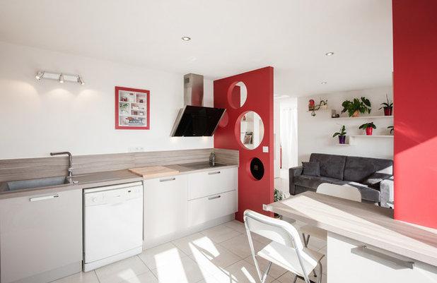 9 solutions originales pour s parer la cuisine du salon - Separer la cuisine du salon ...