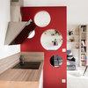 Просто фото: Перегородка между кухней и гостиной — 22 варианта