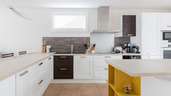 Rénovation d'un maison : Portail, garde corps, menuiseries et cuisine