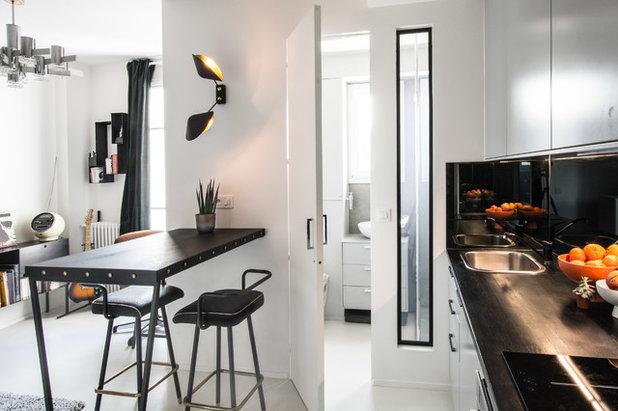 コンテンポラリー キッチン by Jean-Christophe Peyrieux