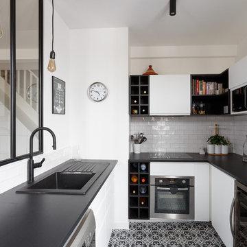 Rénovation d'un sublime duplex - Quartier Malakoff
