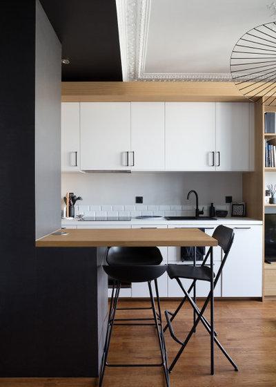 Скандинавский Кухня by Lagom architectes