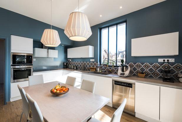 9 combinaisons de couleurs qui marchent toujours dans la cuisine - Changer couleur cuisine ...