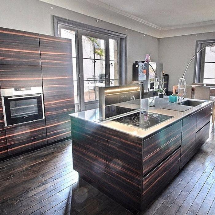 Rénovation d'une cuisine dans un hôtel particulier