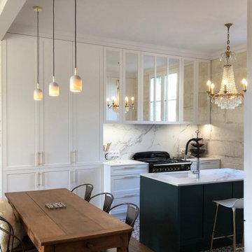 Rénovation d'une maison de ville à Angoulême