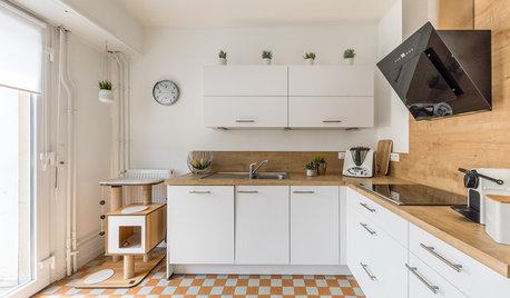 Prima e Dopo di 10 Cucine Francesi Completamente Trasformate