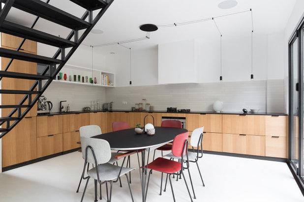 Contemporain Cuisine by Lagom architectes