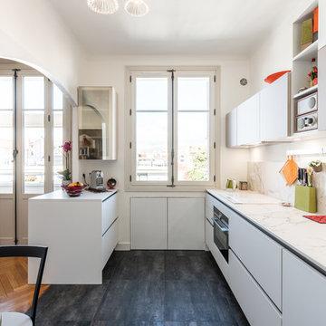 Rénovation de cuisine du sol au plafond 69006