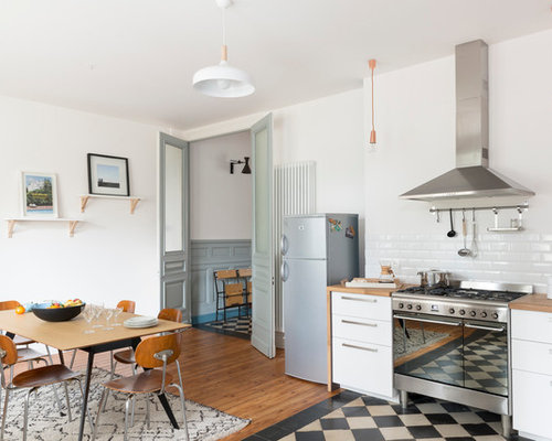 Cuisine scandinave photos et id es d co de cuisines for Deco cuisine houzz