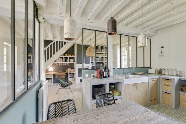 Industriel Cuisine by Atelier VBA - Architecte