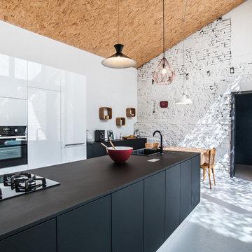 Rénovation écologique - maison de ville - 160m²