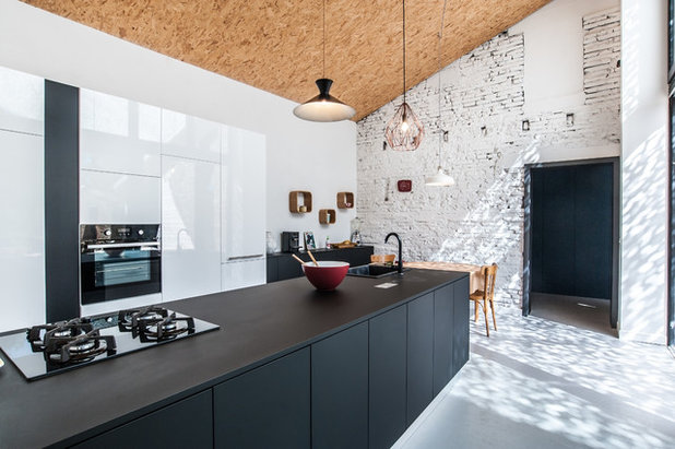 Contemporary Kitchen by Jean François Revillon
