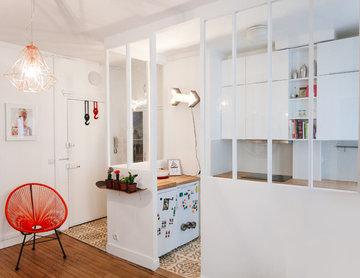 Rénovation espace cuisine ouverte