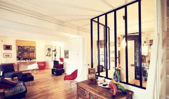 Rénovation et aménagement appartement avec verrière