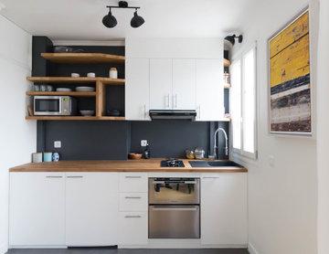Rénovation intégrale d'un appartement tendance et fonctionnel à Paris
