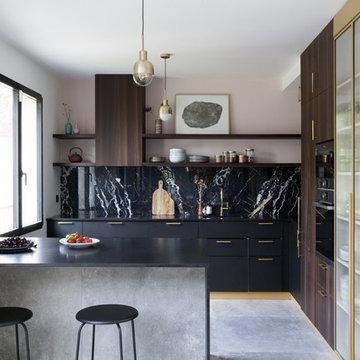 Rénovation intégrale d'une maison de 190m2 à Bourg-la-Reine