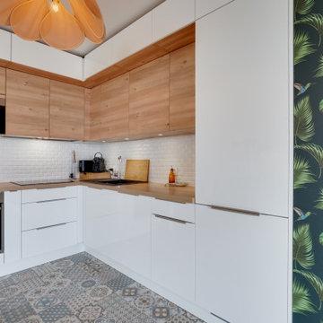 Rénovation partielle d'un appartement - 90m2