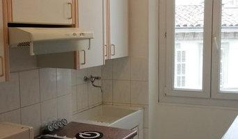 rénovation Peinture d'une cuisine