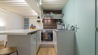 Rénovation studio airbnb