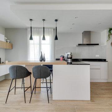 Rénovation totale d'un appartement duplex de 130m²