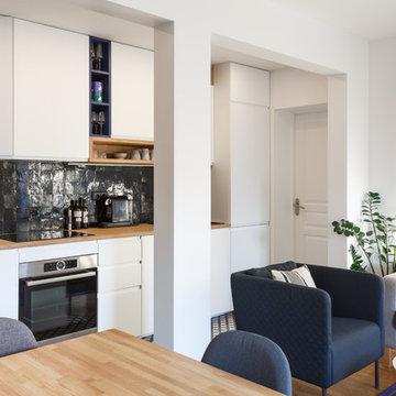 Rénovation totale pour un magnifique appartement du 18ème !