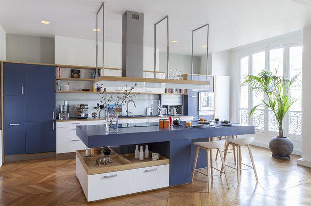 Contemporain Cuisine by Damien Brambilla Architecte Sarl