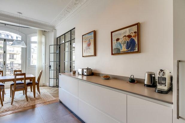 cuisine de la semaine une pi ce styl e pour famille nombreuse. Black Bedroom Furniture Sets. Home Design Ideas