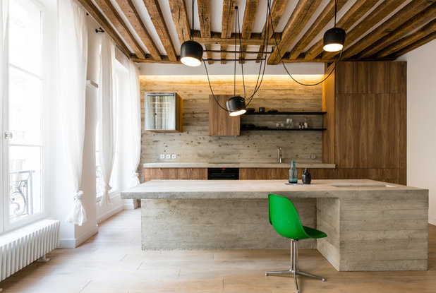Industriel Cuisine by STENE POCHAT Architectes