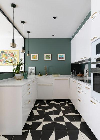 Modern Küche by ARCHIPELLES