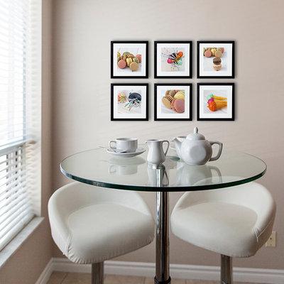 8 jolies tables rondes pour une cuisine moderne. Black Bedroom Furniture Sets. Home Design Ideas