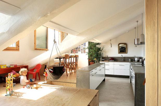 Cucina a Vista: 8 Ispirazioni per una Zona Giorno Aperta e Multitasking