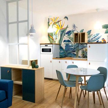 ST-JACQUES - Studio meublé de 25 m2