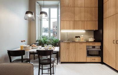 До и после: Двухкомнатная квартира на 38 кв.м в Нанте