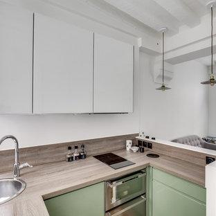 Scandinavian kitchen designs - Kitchen - scandinavian kitchen idea in Paris