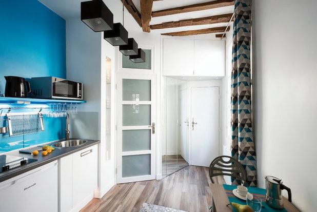 Was Heißt Flur Auf Englisch kleine küchen im flur 5 clevere einbau lösungen