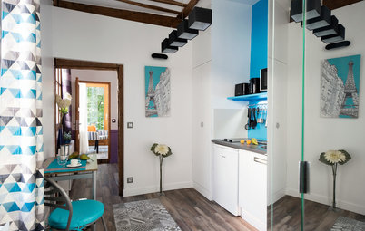 French Houzz: Extreme Makeover for Abandoned Parisian Apartment