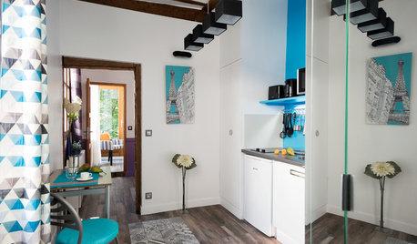 Houzz Франция: 20-метровая квартира в центре Парижа