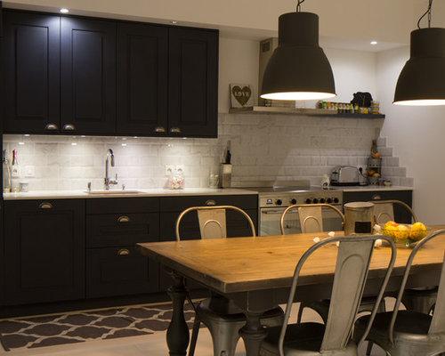 Cuisine industrielle france photos et id es d co de cuisines - Taille moyenne cuisine ...