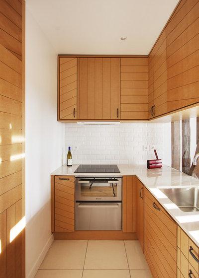 Contemporary Kitchen by Andrea Mosca Architecte DESA (hmonp)