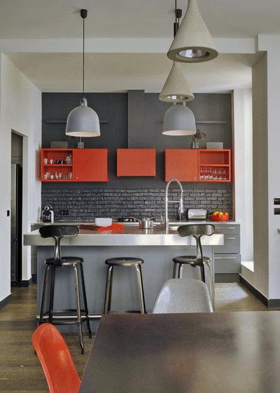 コンテンポラリー キッチン by MOC, Maisons Objets & Chantiers