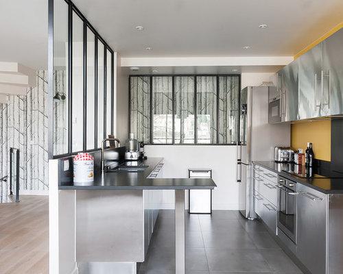 cuisine ferm e photos et id es d co de cuisines. Black Bedroom Furniture Sets. Home Design Ideas