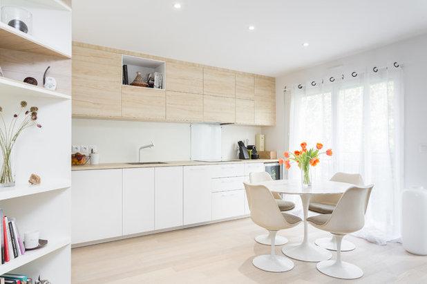 Scandinavian Kitchen by Emilie Melin architecte DPLG