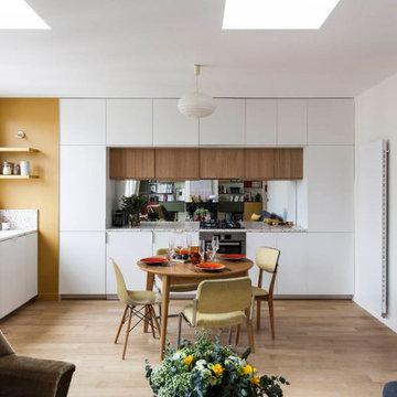 Un appartement tout en couleur