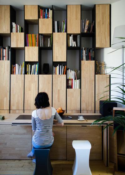 Современный Кухня by Martins Afonso atelier de design