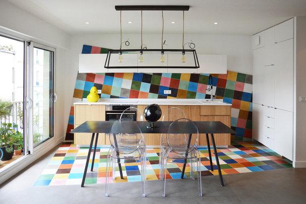 Modern Küche by Jean-Pierre Fuda - Architecte d'intérieur