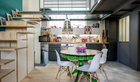 Houzzbesuch: Mehr Wohnfläche durch ein Zwischengeschoss